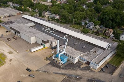 142,046 SF Industrial For Sale and for Lease 341-353 Eddy Road Cleveland , OH