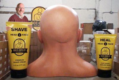 Weston Close-Up – Dennis Fisher – Bee Bald LLC